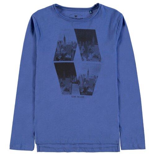 Футболка Tom Tailor размер 176, голубой футболка tom tailor tom tailor to793embmtw6