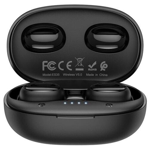 Беспроводные наушники Hoco ES35 black наушники hoco e47 traveller black