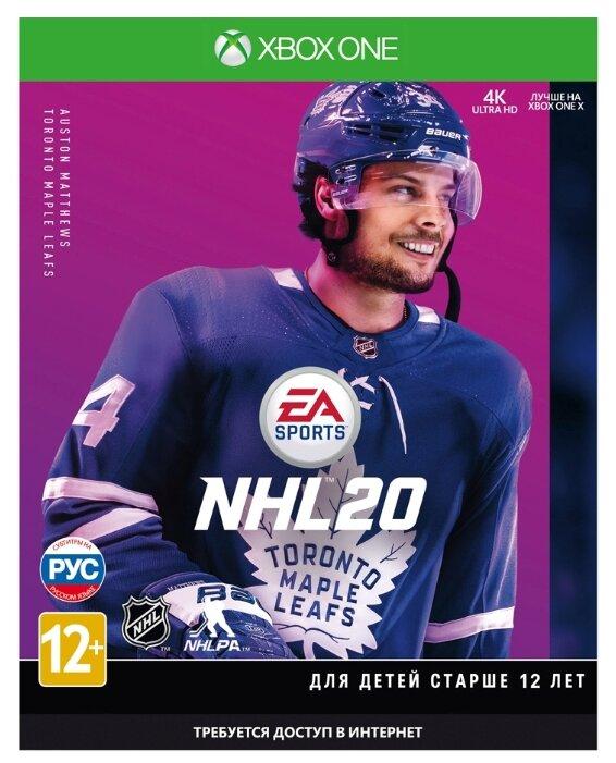 Игра для Xbox ONE NHL 20, русские субтитры фото 1
