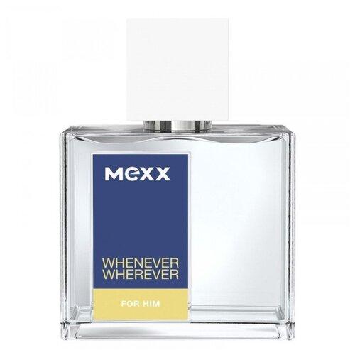 Туалетная вода MEXX Whenever Wherever for Him, 30 мл mexx whenever wherever туалетная вода 50мл