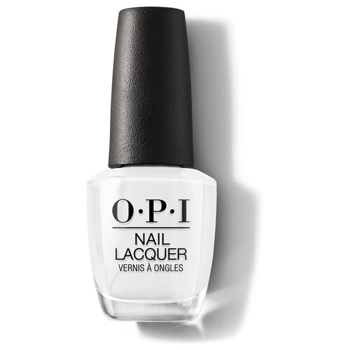 Лак OPI Nail Lacquer Classics, 15 мл, Alpine Snow лак opi nail lacquer lisbon 15 мл оттенок no turning back from pink street