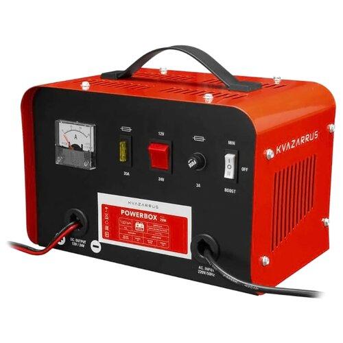 Зарядное устройство Kvazarrus PowerBox 20M черный/красный зарядное