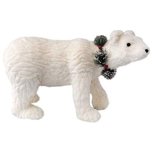 Фигурка Новогодняя Сказка Мишка 15 см (973016) белый