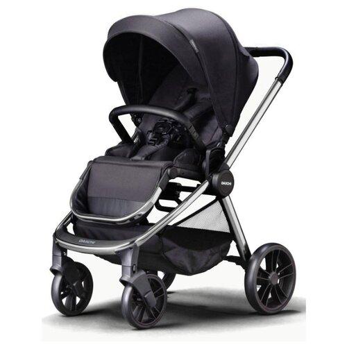 Купить Прогулочная коляска Daiichi Allee black city/chrome, цвет шасси: серебристый, Коляски