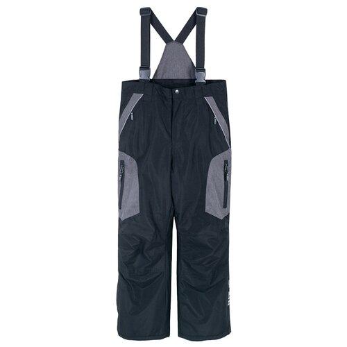 Купить Полукомбинезон COCCODRILLO Snowboard Boy Z18119201SNB размер 104, черный, Полукомбинезоны и брюки