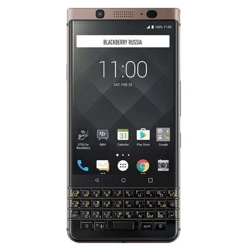 Смартфон BlackBerry KEYone Bronze Edition Dual sim бронзовый (BBB100-5)