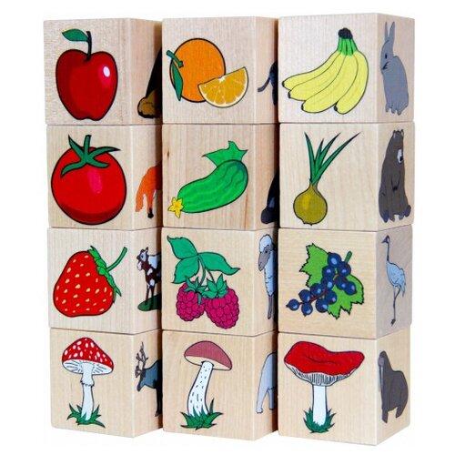 Кубики Краснокамская игрушка Окружающий мир игрушка