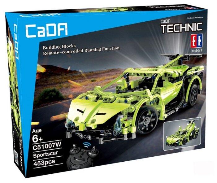 Электромеханический конструктор Double Eagle CaDA Technic C51007W Спортивный автомобиль