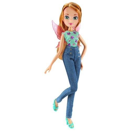 Купить Кукла Winx Club Осенний гламур Флора, 27 см, IW01781902, Куклы и пупсы