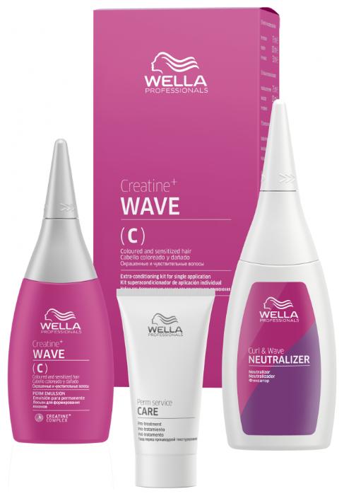 Wella Professionals Набор Creatine+ Wave для для окрашенных и чувствительных волос