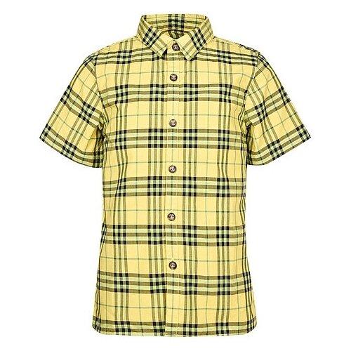 цена Рубашка Burberry размер 164, желтый онлайн в 2017 году