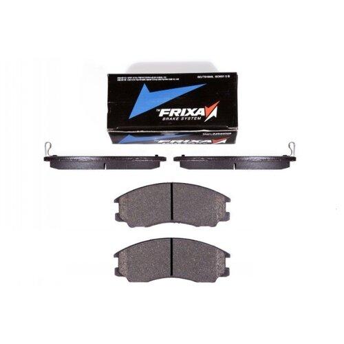 Фото - Дисковые тормозные колодки передние Frixa FPH12 для Hyundai Terracan (4 шт.) дисковые тормозные колодки передние frixa fpe019 для toyota camry 4 шт