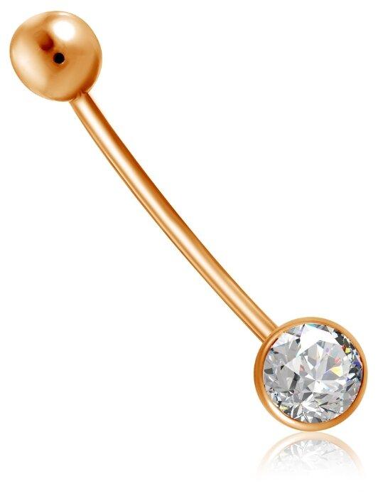 Бронницкий Ювелир Пирсинг из красного золота 16611376000