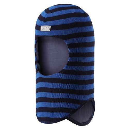 Купить Шапка-шлем Lassie размер S/003, синий/черный, Головные уборы