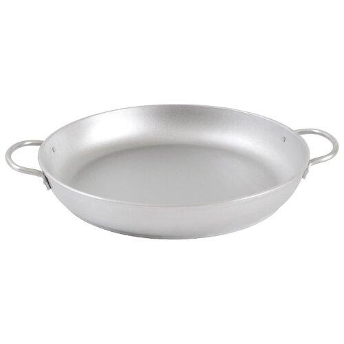 Сковорода Kukmara с341 34 см, серебристый сковорода d 24 см kukmara кофейный мрамор смки240а