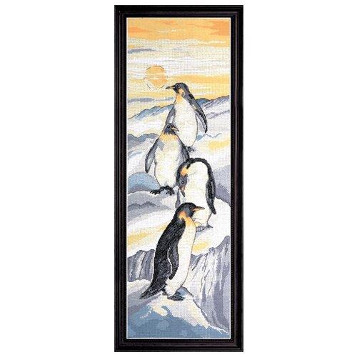 Купить Набор для вышивания Пингвины DESIGN WORKS, 20, 3 x 61 см 2749, Наборы для вышивания