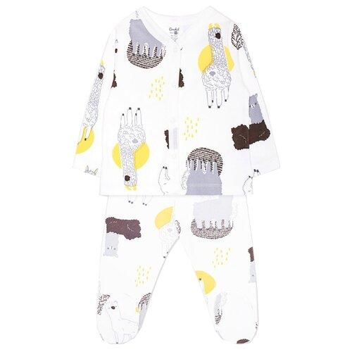 Купить Комплект одежды crockid размер 62, белый, Комплекты