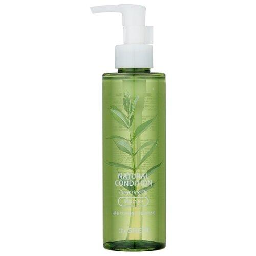 Купить The Saem гидрофильное масло увлажняющее с экстрактом семян зелёного чая Natural Condition, 180 мл