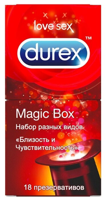 Презервативы Durex Magic Box