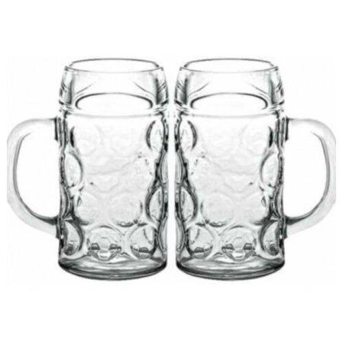 Pasabahce Набор кружек для пива Pub 625 мл 2 шт прозрачный набор кружек для пива pasabahce pub 2шт 500мл стекло 55289
