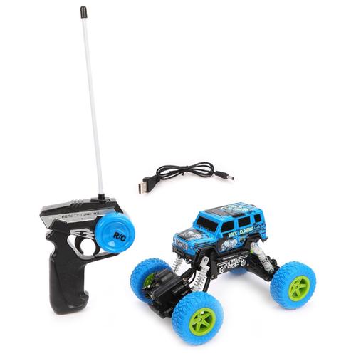 Купить Внедорожник YP Toys 6149T 1:22 18 см голубой, Радиоуправляемые игрушки