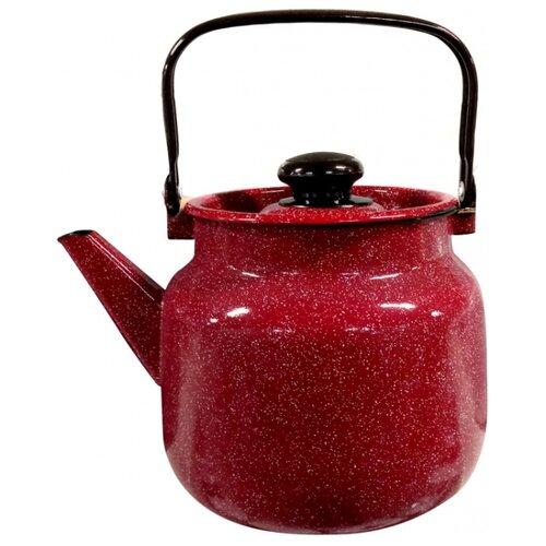 Фото - Лысьвенский завод эмалированной посуды Чайник 2713П2 3.5 л, вишневый гранит чебоксарский завод