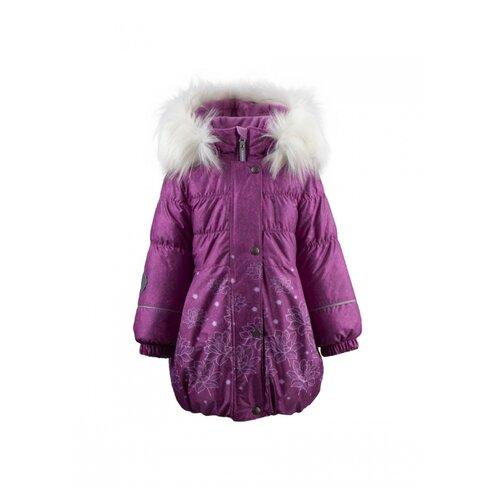 Купить Пальто KERRY Estella K19434 размер 122, розовый, Куртки и пуховики