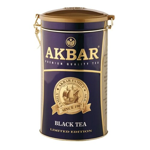 Чай черный Akbar 100 Years Limited Edition, 300 г