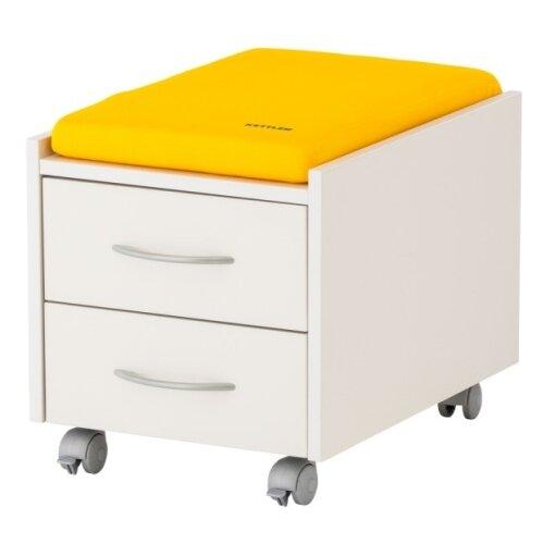 Фото - Подушка для тумбы KETTLER 6775 желтый ящик kettler w40106 белый серый