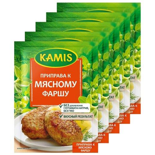 Фото - KAMIS Приправа К мясному фаршу, 5х20 г kamis приправа тосканский лосось 4х18 г