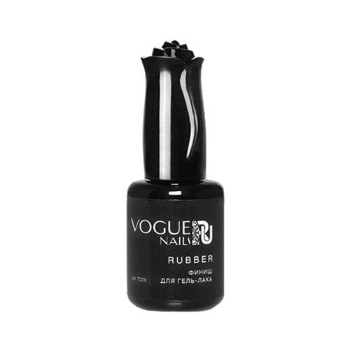 Vogue Nails верхнее покрытие Rubber финиш 18 мл прозрачный