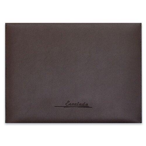 Escalada Папка для документов Наппа тёмно-серый + наппа бордовый А4 (47086) коричневый