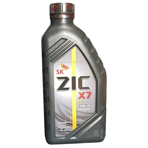 Моторное масло ZIC X7 LS 10W-30 1 л моторное масло zic x7 ls 5w 30 4 л
