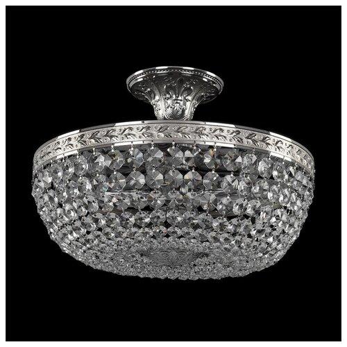 Люстра Bohemia Ivele Crystal 1911 19111/35IV Ni, E14, 160 Вт bohemia crystal люстра bohemia crystal 1911 45 z ni