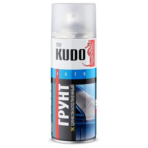 Аэрозольный грунт-наполнитель KUDO KU-2301 серый 0.5 л
