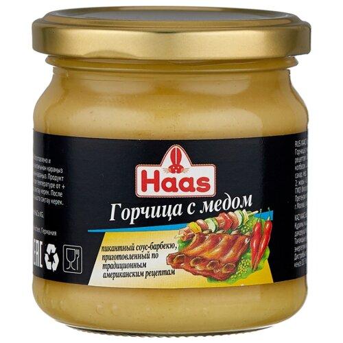 Горчица Haas с медом, 215 г горчица haas домашняя 200 г