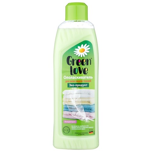Green Love Ополаскиватель для белья 1 л флакон.
