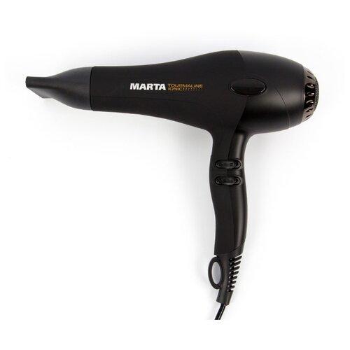 Фен MARTA MT-1428 черный гранит фен marta mt 1428