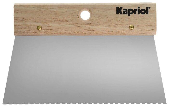 Шпатель зубчатый Kapriol 23190 200 мм
