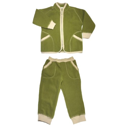 Купить Комплект термобелья Наша мама 777190 / 777290 / 777390 размер 98, светло-зеленый, Термобелье