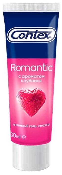 Гель-смазка Contex Romantic с ароматом клубники