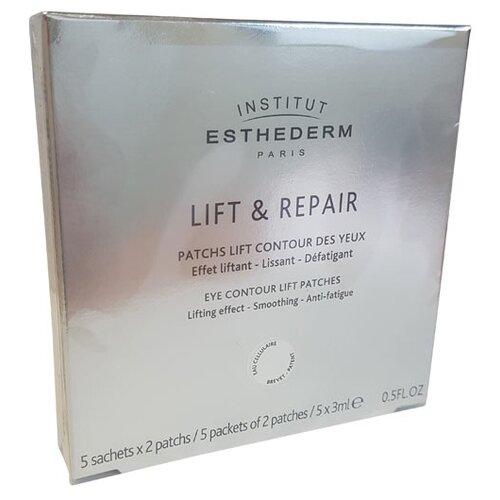 Institut Esthederm Лифтинговые патчи для контура глаз Lift & Repair, 2 шт., 5 уп. недорого