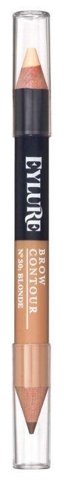 Eylure карандаш+хайлайтер для бровей Brow Contour