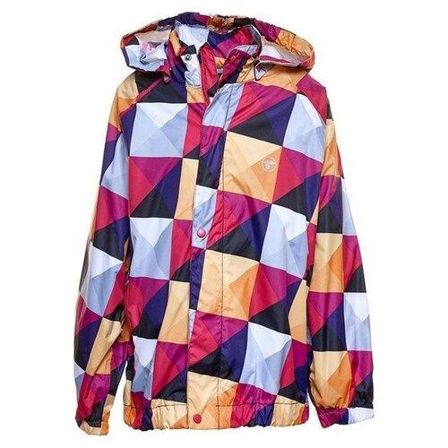 Купить Ветровка Reima Structure 521168 размер 128, 269 розовый, Куртки и пуховики
