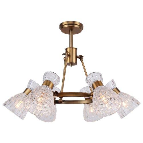 Светильник ESCADA 530-6PL, E14, 240 Вт светильник escada 5080 4pa e14x40вт коричневый