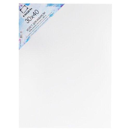 Купить Холст Малевичъ для акварели на картоне 30х40 см (253040), Холсты