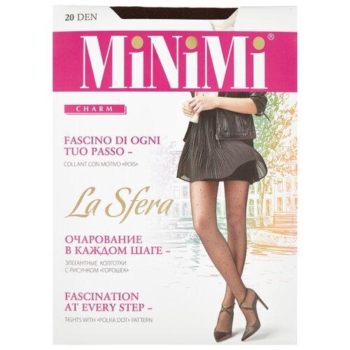 Колготки MiNiMi La Sfera 20 den, размер 5-XL, cappuccino (коричневый) колготки minimi la sfera 20 den размер 5 xl daino бежевый