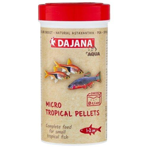Сухой корм для рыб Dajana Pet Neon Micro Granules 250 мл 150 г