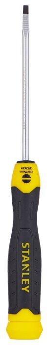 Отвёртка прямой наконечник STANLEY Cushion Grip SL2.5x75 мм