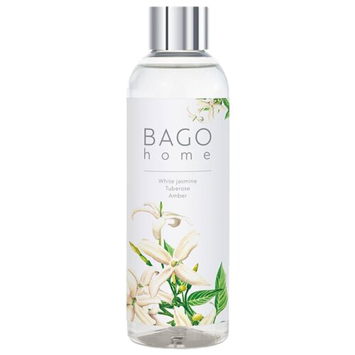 BAGO home наполнитель для диффузора Белый жасмин, 100 мл 1 шт.